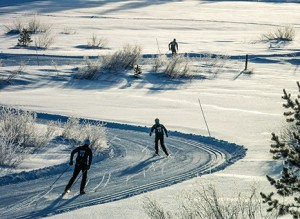 Nordic Skiing is a beautiful way to enjoy the Gunnison area.